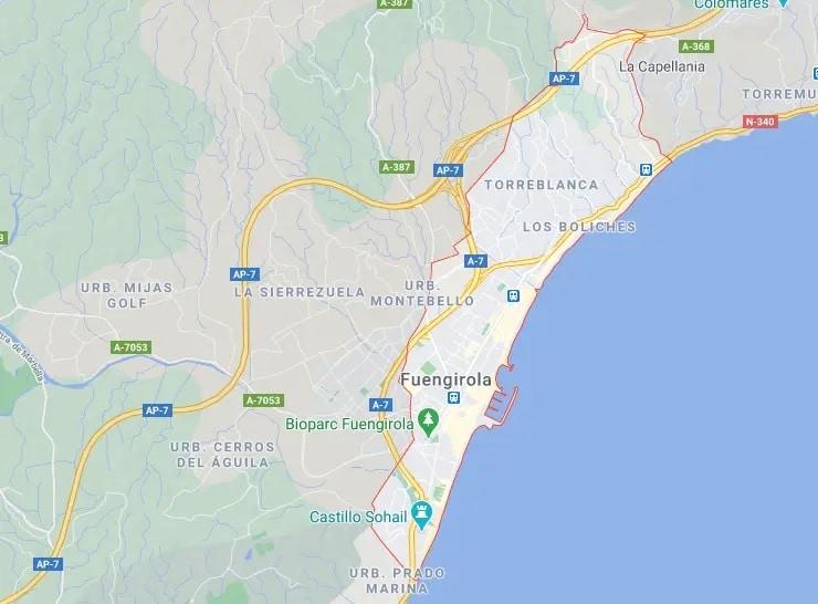 Propiedades en venta Fuengirola
