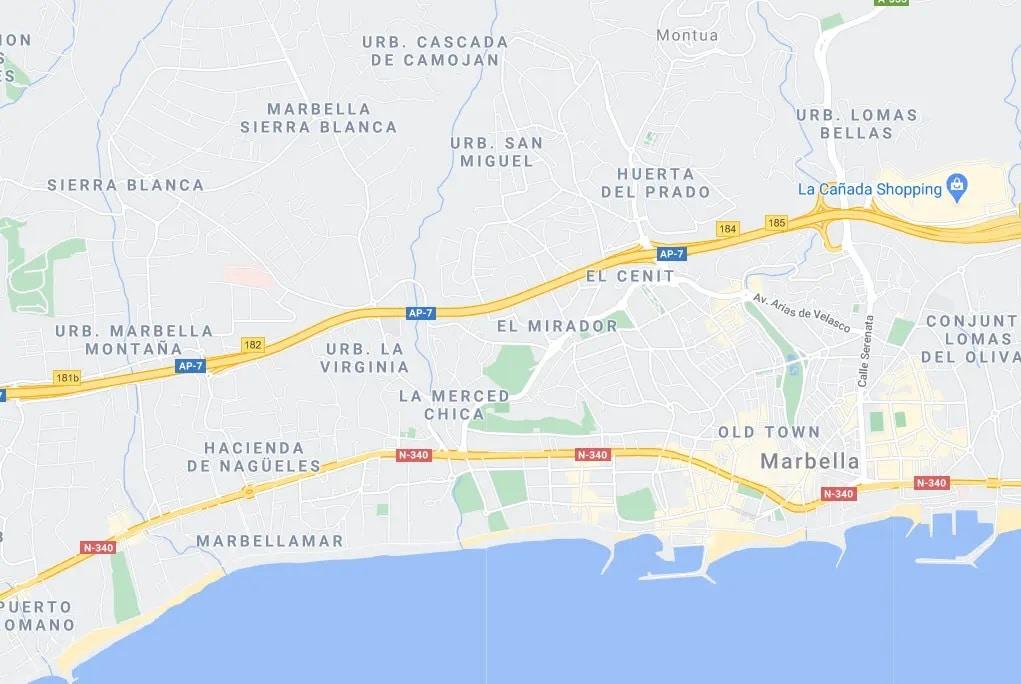 Propiedades en venta Marbella Centro