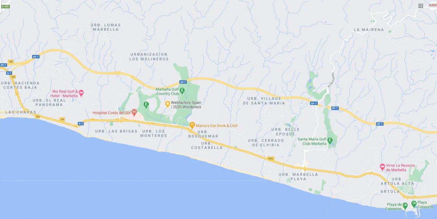 Woningen te koop Marbella Oost