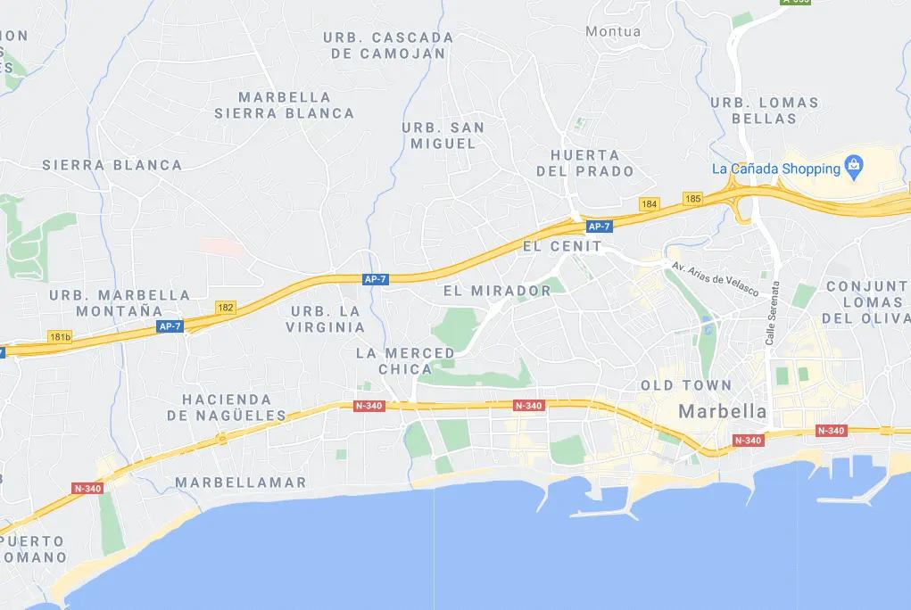Woningen te koop Marbella – Stad